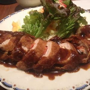 【グルメ】ポロネーズ定食_洋食レストラン マルシェ:兵庫県神戸市 -2016/2/6-